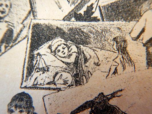 Девочка засыпает в окружении любимых игрушек (Сладкая грёза)