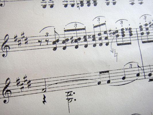 50-й такт (Мелодия, опечатки)
