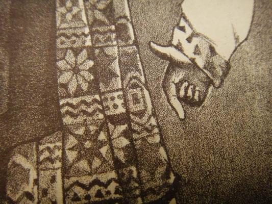 Правильное положение руки в казачке (гопаке)