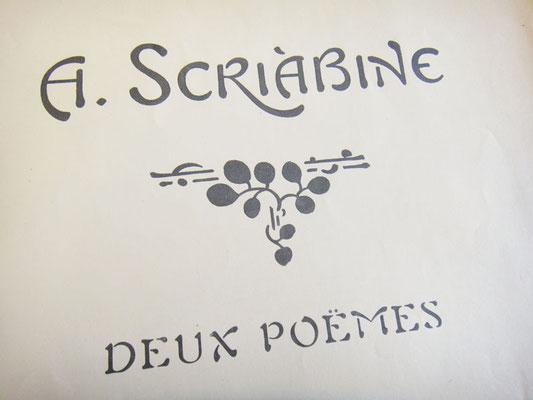 Скрябин, Две поэмы опус 69
