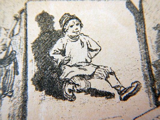 Мальчик пляшет Камаринскую