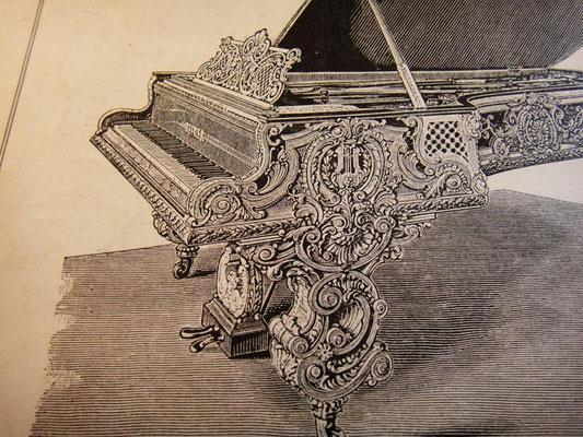 Роскошный рояль J. Becker