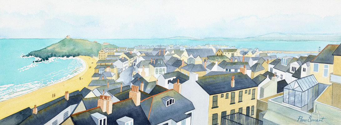Over the Rooftops: St Ives