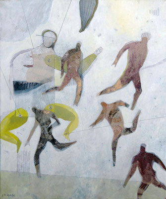 Vanity Fair August - 22''x18'' - Mixed Media on canvas