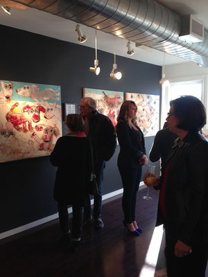 La vie en rose at Artists' Proof Gallery