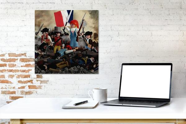 Liberty on a desk