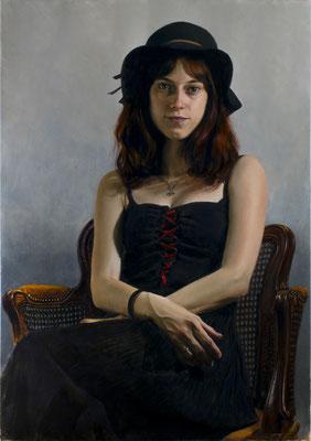 Roberto L Zuñet - Giselle - Óleo sobre lino - 92x65