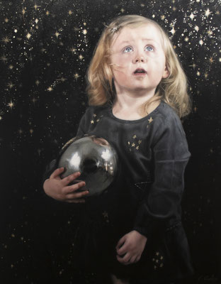 Catherine Creaney - Star Child - Oil on canvas - 90x70