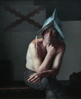 Pablo Santibañez (España) -Recordando - Óleo sobre lienzo - 100x81