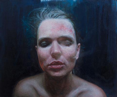 Viktoria Savenkova - 4 AM - Oil on canvas - 120x100