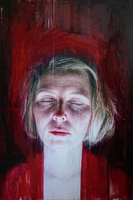 Viktoria Savenkova - Dreams of Maria - Óleo sobre lienzo - 100x150