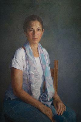 Jorge Castillejo - María - Óleo sobre lienzo - 100x81
