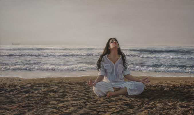 Negar Neisari - Revelation - Oil on canvas - 90x120