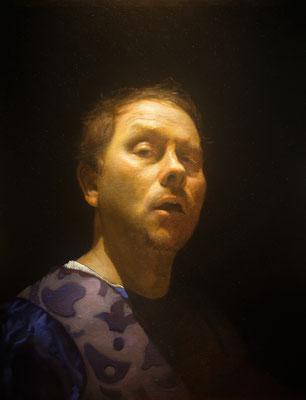 Timothy Joseph Allen - The Cabinetmaker - Oil on linen - 40x60