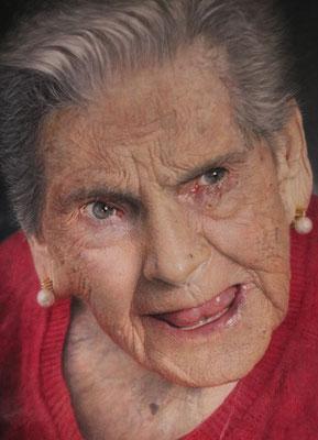 Josefa Medina - Irene y su carácter - Óleo sobre madera - 100x81