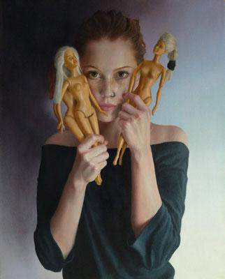 Tomás Ortolani - Identidad - Óleo sobre tela - 50x40