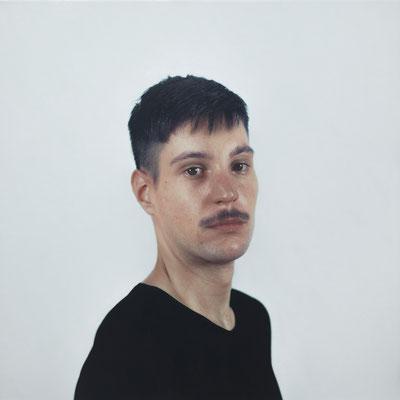 Ivan Franco - Alberto  Óleo sobre lienzo - 40x40