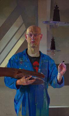 Amnon David Ar - 40 - Oil on canvas - 129x77