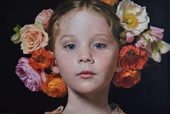 Ioanna Stefou - Hope - Oil on linen - 50x75