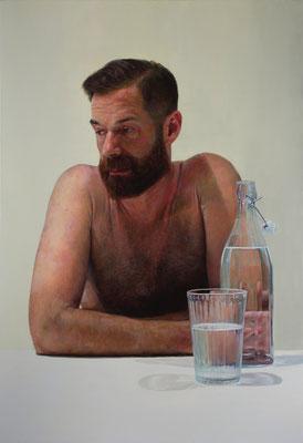 Daniel Nuñez - No estaba vacío - Óleo sobre lienzo - 110x160