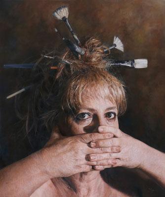 Jaq Crantford - 2020 - Oil on canvas - 85x85