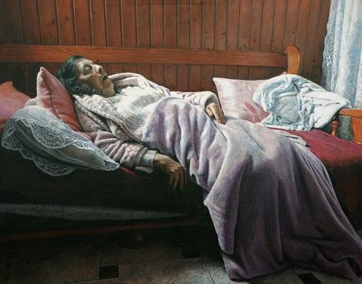 Julián  Maroto Fernández - Madre - Mixta sobre lienzo - 162x130