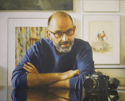 Roberto Fernández - Desde mi punto de vista - Óleo sobre tabla - 97x120