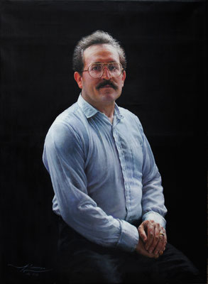Ricardo Lamenca Espallargas - Ricardo - Óleo sobre lienzo - 100x73