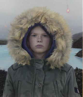 Lihard David - Cassandre - Huile sur toile - 65x54