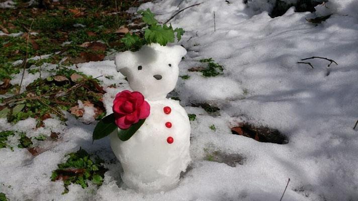 ゆるキャラ祭りに出られるかナっ? …寒い日のほんの気晴らし☆… (2014.2.7) (c) Yukie Arai