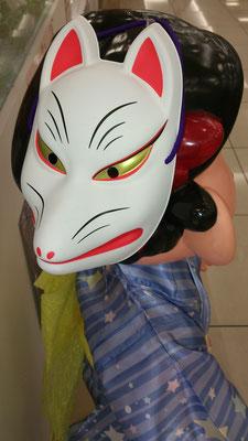 ~  看板むすめ 其の4  ~    ペコちゃん、これはよくお似合いで ♪  フェスですか?!☆・・・   (2016.7.30) (c) Yukie Arai