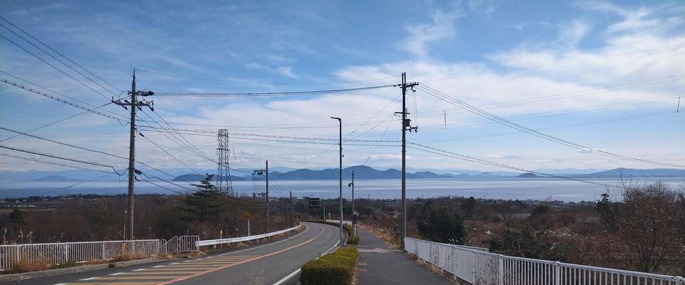 琵琶湖♪ (2021.1.10) (c) Yukie Arai