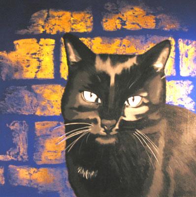 Tommy ca. 120 x 120 cm Acryl auf Leinwand