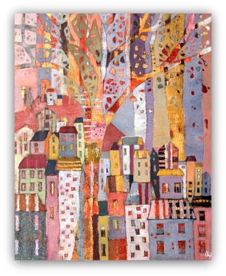 l'arbre de vie - 80 x 100