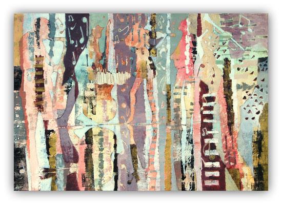 Magie musicale - 116 x 81 - 2020 - vendu