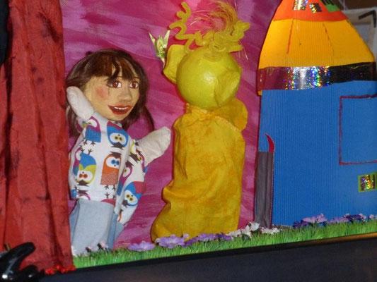 Puppentheater für Kinder im Café Seel