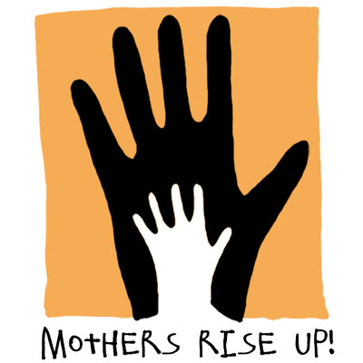 """Logo für """"mothers rise up"""" in London"""