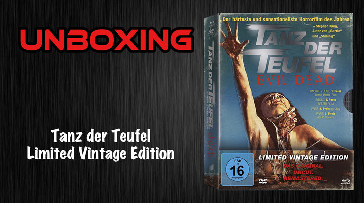 Tanz der Teufel Vintage Edition Unboxing