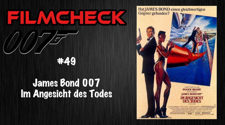 James Bond 007: Im Angesicht des Todes Kritik/Review #49