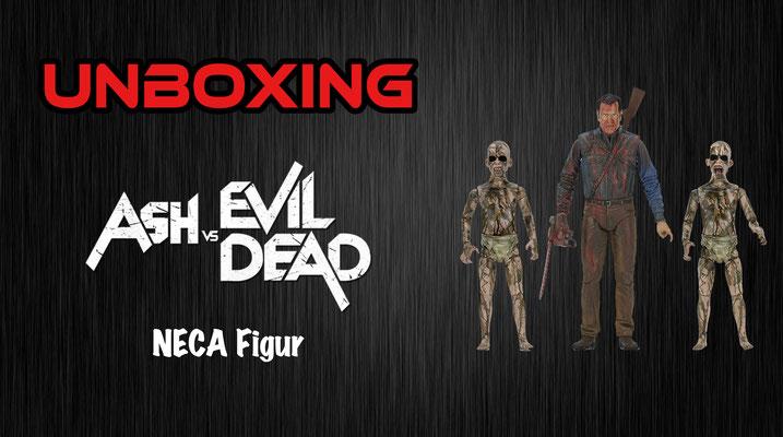 Ash vs Evil Dead NECA Figur Bloody Ash Vs Demon Spawn Unboxing