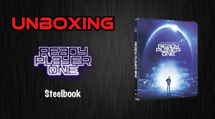 Ready Player One Steelbook Unboxing