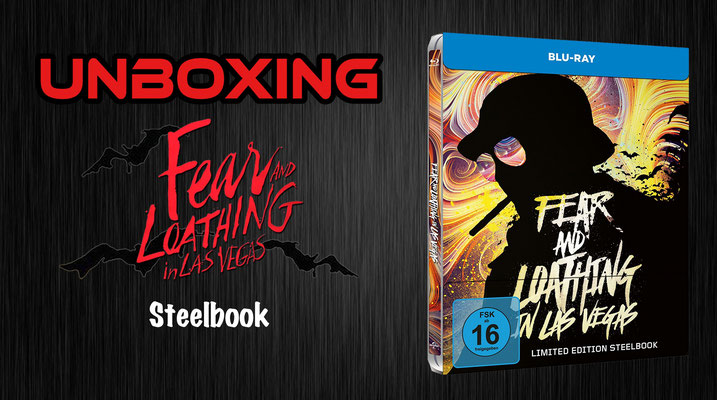 Fear and Loathing in Las Vegas Steelbook Unboxing