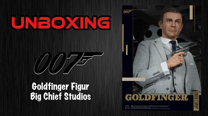James Bond 007: Goldfinger Figur Big Chief Studios