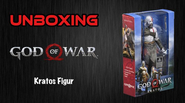 God of War NECA Figur Unboxing
