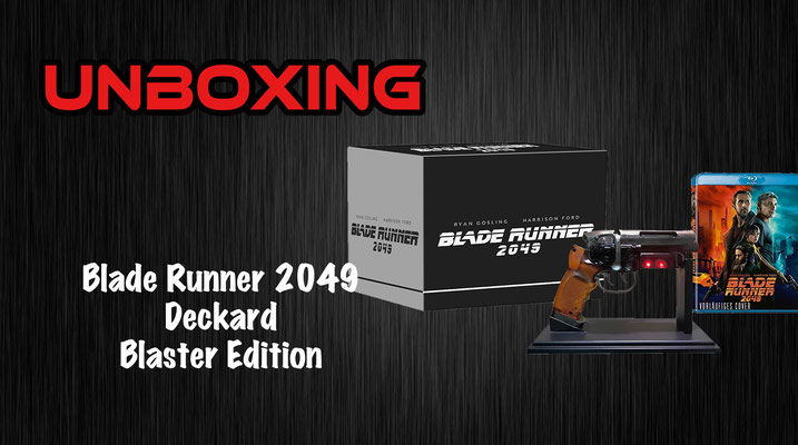 Blade Runner 2049 Deckard Blaster Edition Unboxing