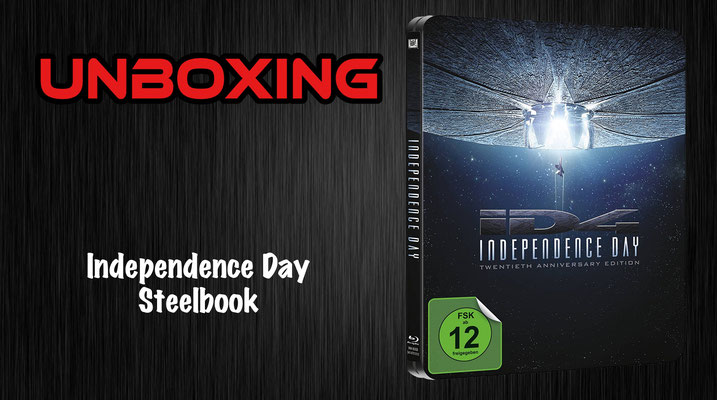 Independence Day Steelbook Unboxing
