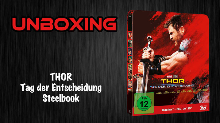 Thor: Tag der Entscheidung Steelbook Unboxing