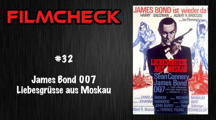 James Bond 007: Liebesgrüsse aus Moskau Filmcheck #32