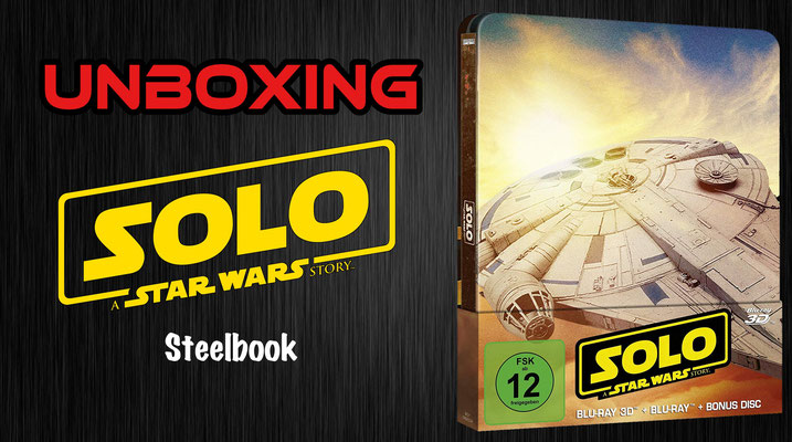 Solo: A Star Wars Story Steelbook Unboxing
