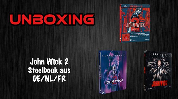 John Wick 2 Steelbook